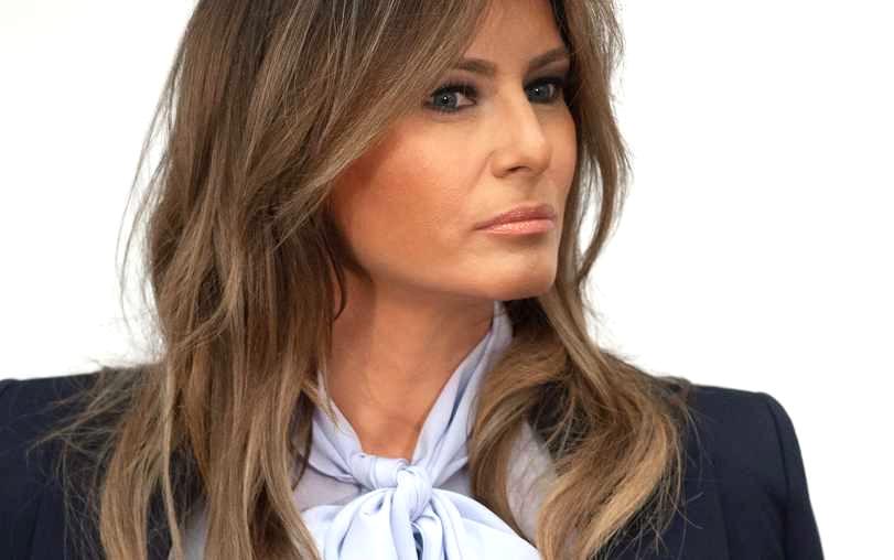 美國第一夫人梅拉尼娅因Covid康複爲由取消參加周二總統競選集會