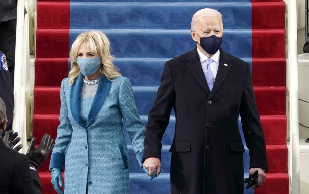休斯頓准備歡迎拜登總統和第一夫人