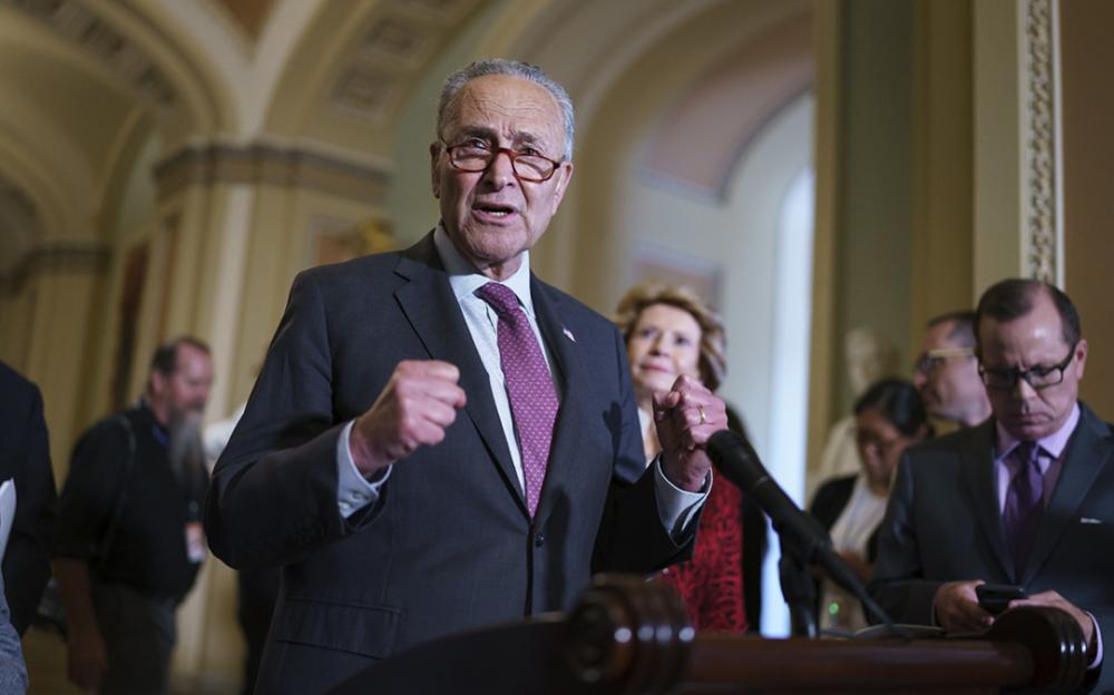 """舒默:参议院已就基础设施法案""""达成协议""""  预计周二投票通过"""