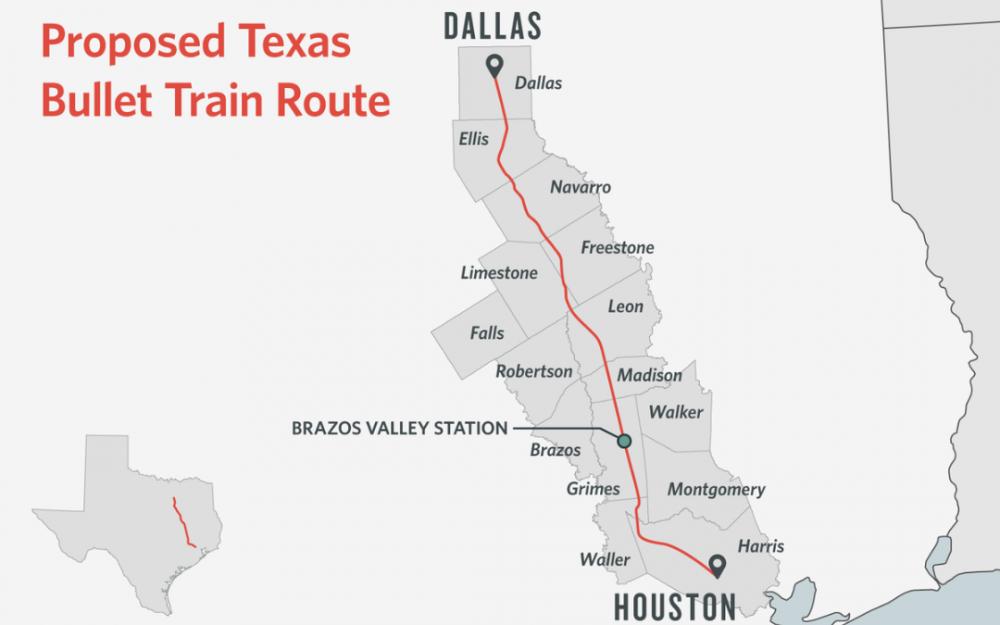 德州高铁梦有望成真?拜登基建方案将投200亿