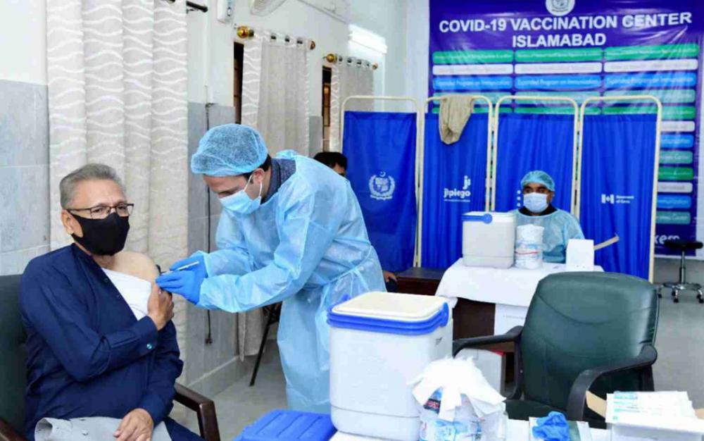 巴基斯坦總統感染新冠病毒 之前已接種第一劑中國産新冠疫苗