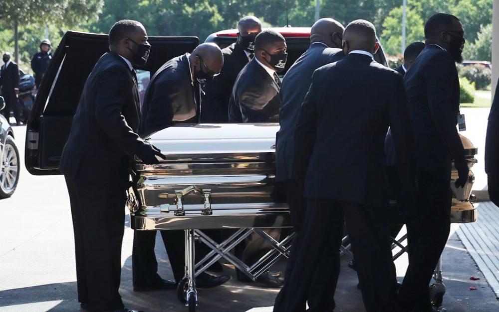 佛洛伊德公眾瞻仰8日舉行 拜登赴休斯頓悼念