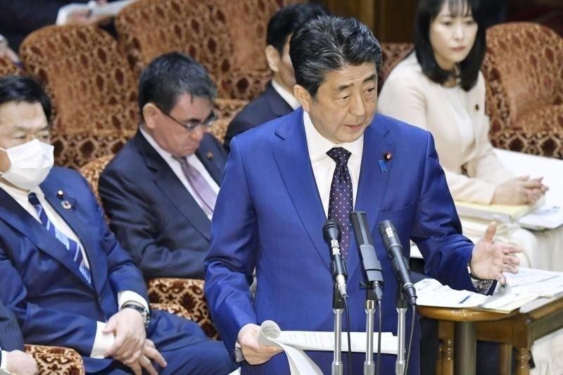 日本首相安倍晉三。(資料照,美聯社)