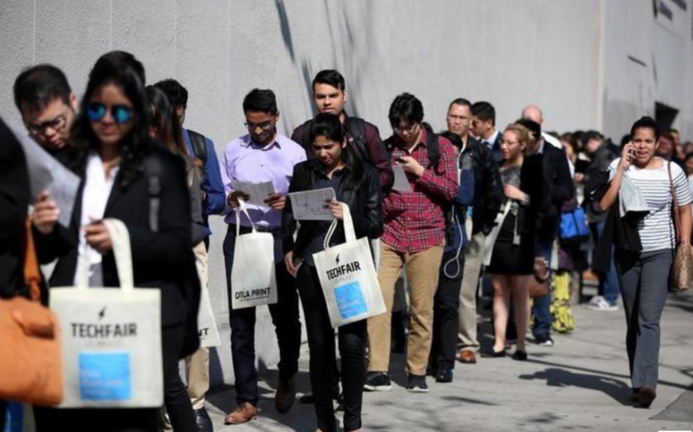 史上新高,全美三周失业人数达1680万