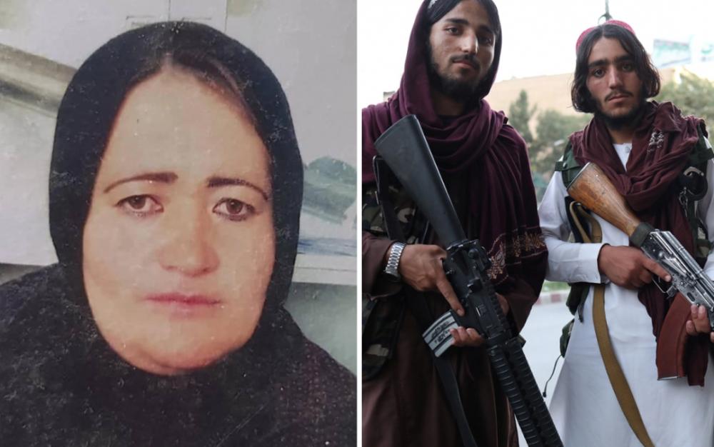 塔利班當著家人的面開槍殺死阿富汗懷孕的警察
