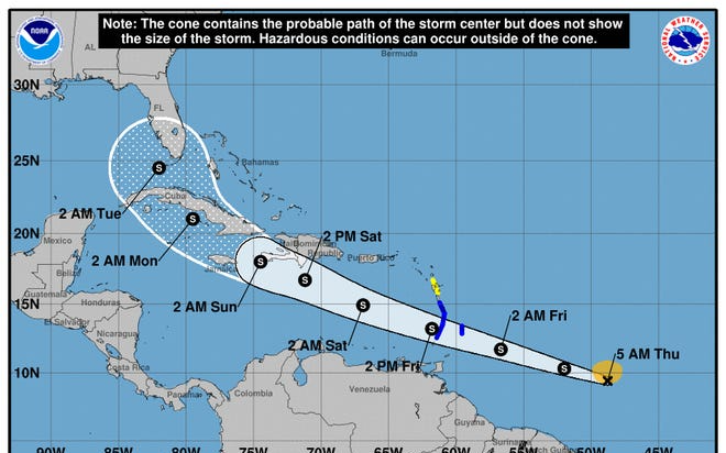 熱帶風暴艾爾莎在大西洋形成,會影響德州嗎?