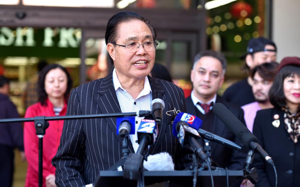 休斯頓國際區區長李蔚華當選爲聯合國協會休斯頓分會董事