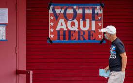 数百名非美国公民登记投票,哈里斯县选民登记官遭起诉