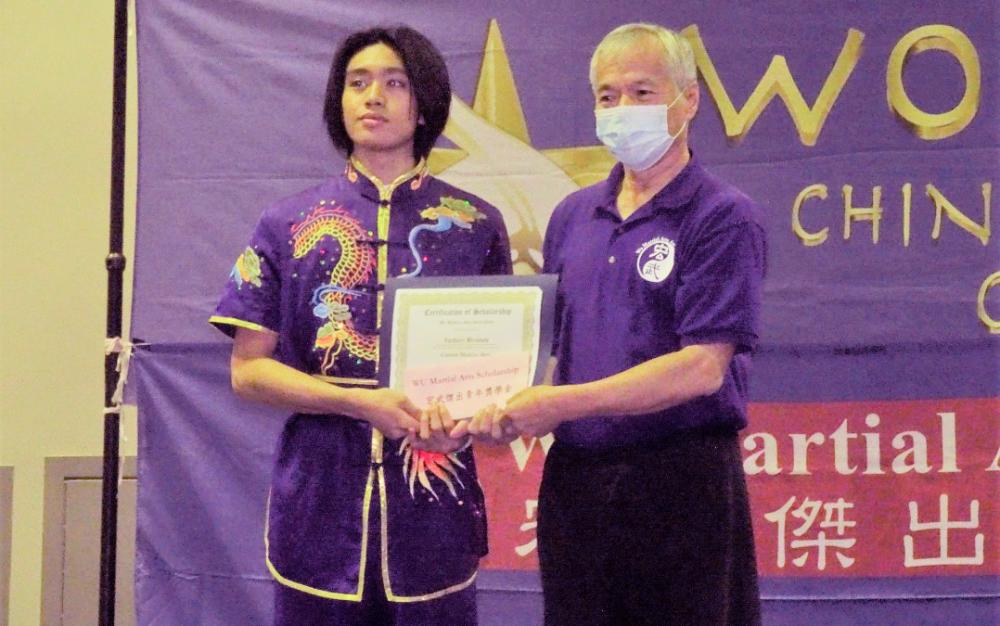 「世界之星中華武術錦標賽」上周末在休市圓滿舉行 並舉行中華武術展暨第八屆宏武傑出青年獎學金頒獎典禮