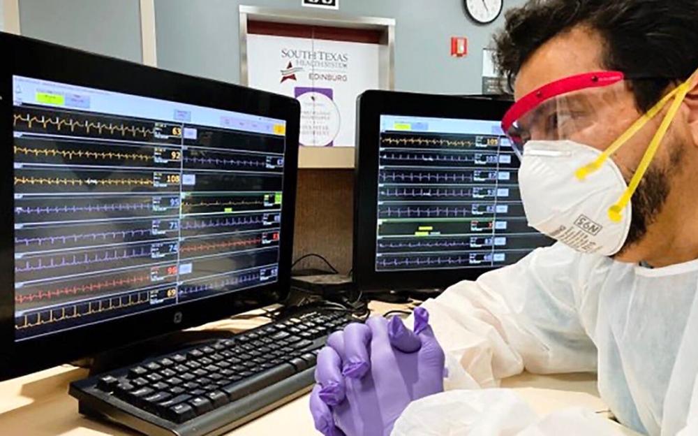 冠状病毒令人绝望  德克萨斯州一家医院可能将一些患者送上不归路