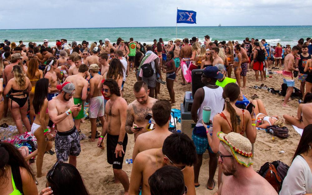 無視白宮公共衛生警告,德克薩斯大學44名學生遊墨西哥感染冠狀病毒