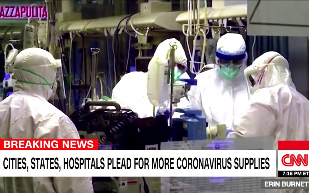 因測試顯示更多冠狀病毒病例  7500萬美國人必須留在家中