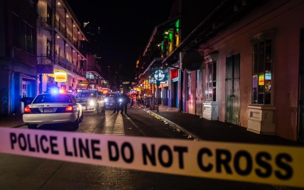 新奥尔良波旁街周末发生枪击案    5人受伤