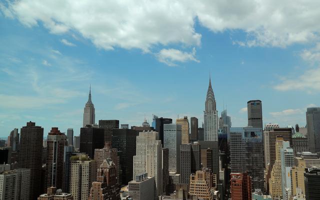 全球金融中心指數最新排名 紐約穩居龍頭