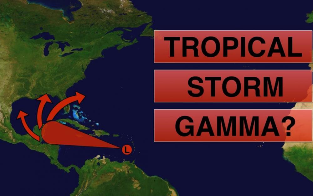 加勒比海熱浪形成,本週末恐成為風暴Gamma