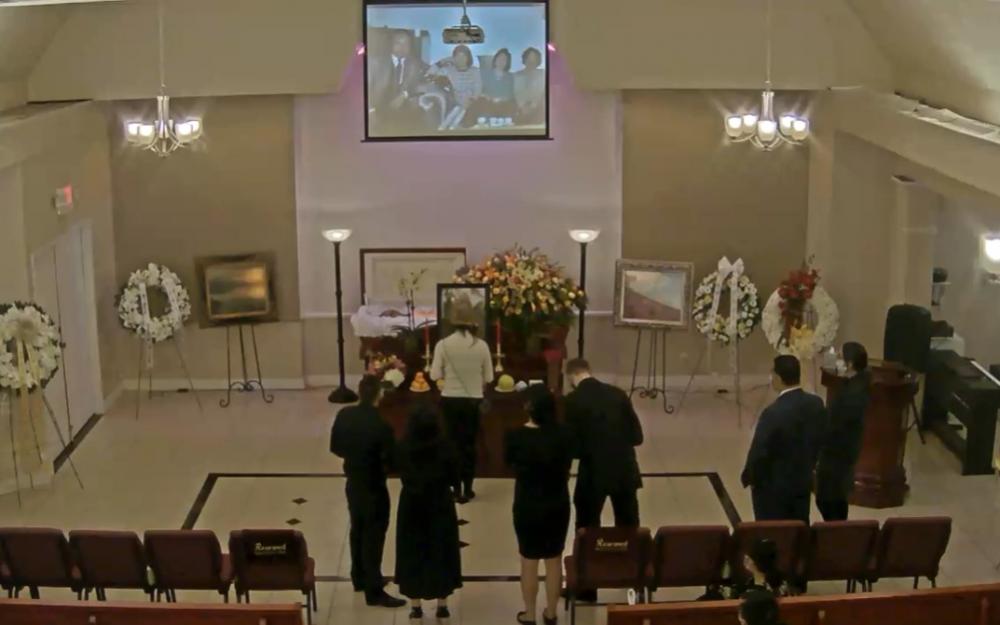 毛志江醫師喪禮 昨在永福殯儀館及線上舉行
