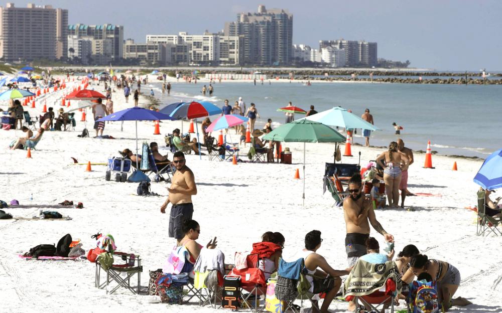 佛羅裏達州在24小時內報告了15,300例冠狀病毒新病例,刷新全美記錄