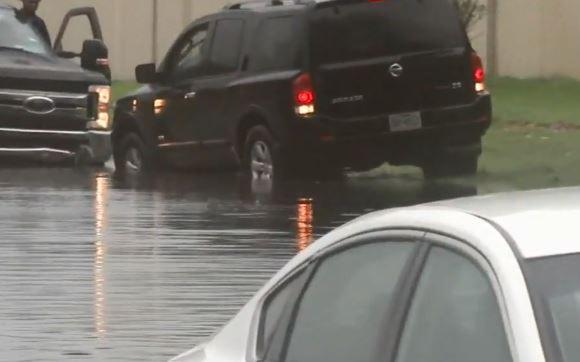 風暴Beta 降雨成災,休斯頓這些地方都泡水中