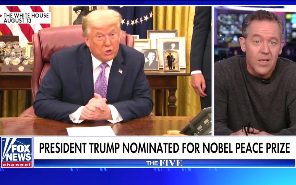 特朗普被挪威議員提名2021年諾貝爾和平獎