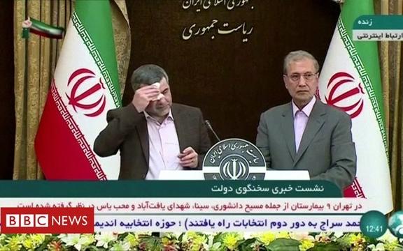 伊朗衛生部副部長感染新冠病毒