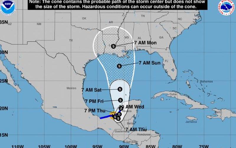 熱帶氣旋Cristobal登陸墨西哥,恐本週末飄向北方,郡長提醒做到這叁點...