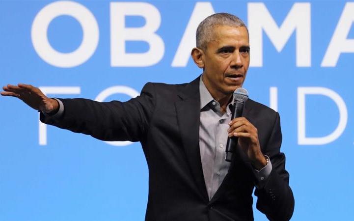 """奧巴馬譴責示威者蓄意破壞、搶劫和暴力行爲,敦促推動變革,""""使當權者感到不舒服"""""""