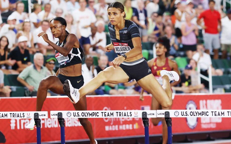 麦克劳林美国奥运选拔赛400米栏创纪录 成为打破52秒大关首位女英豪