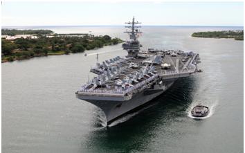 新加坡 美國和法國擔心軍隊中的病毒爆發 美國防部提醒 冠狀病毒可能打擊更多海軍艦艇