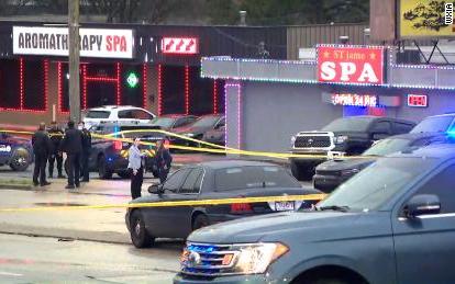 亞特蘭大叁家亞洲按摩店發生槍擊案     八人喪生     一名嫌犯被捕