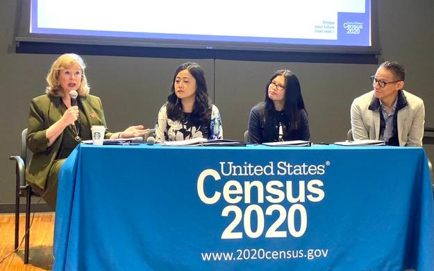 美國人口普查局舉辦媒體見面會, 敦促亞裔美國社區應答即將到來的2020年人口普查