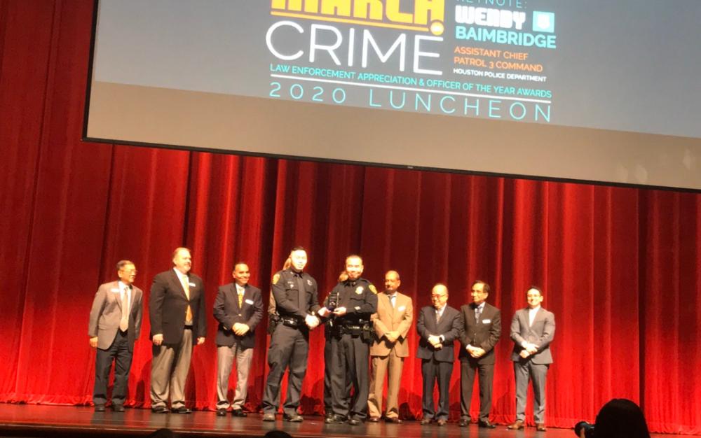 西南管理區「犯罪打擊三月」午宴 答謝執法人員辛勞