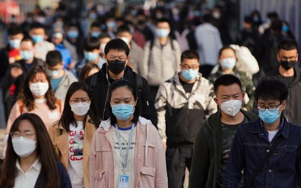自叁月份以來,中國大陸報告了單日冠狀病毒感染最高記錄