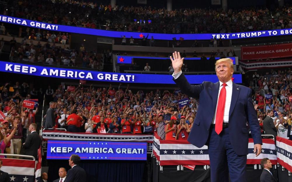 特朗普競選集會使福克斯新聞電視創有史以來周六晚上的觀衆最高紀錄