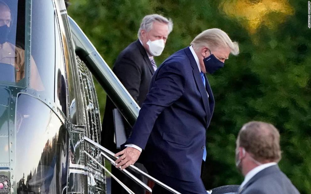 """特朗普的醫師:雞尾酒抗體+瑞德西韋治療新冠   總統:""""進展順利"""""""