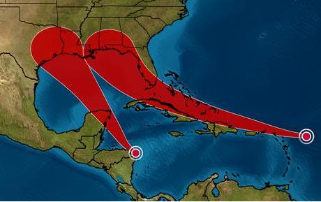 14號熱帶氣旋,恐升級成颶風登陸德州