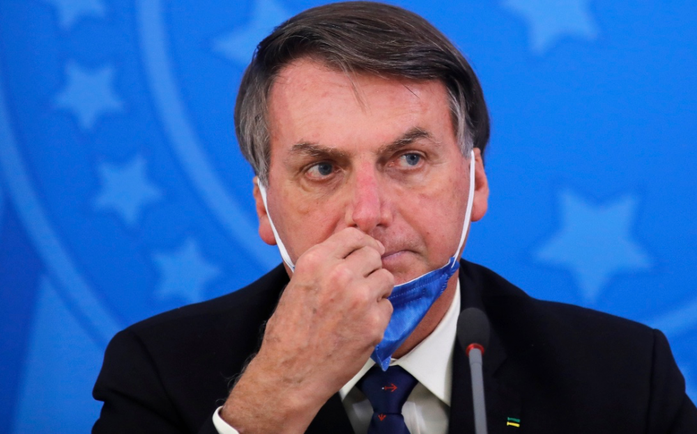 沒有一個人可以安全,巴西總統博爾索納羅冠狀病毒呈陽性