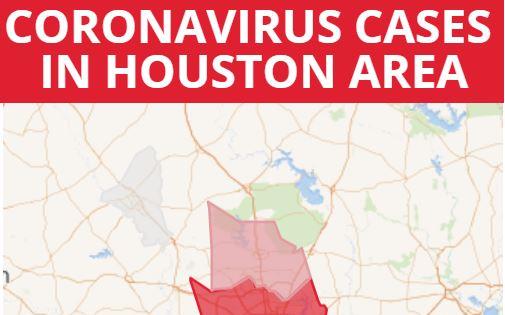 3月19日疫情更新:休斯頓地區感染人數63 人