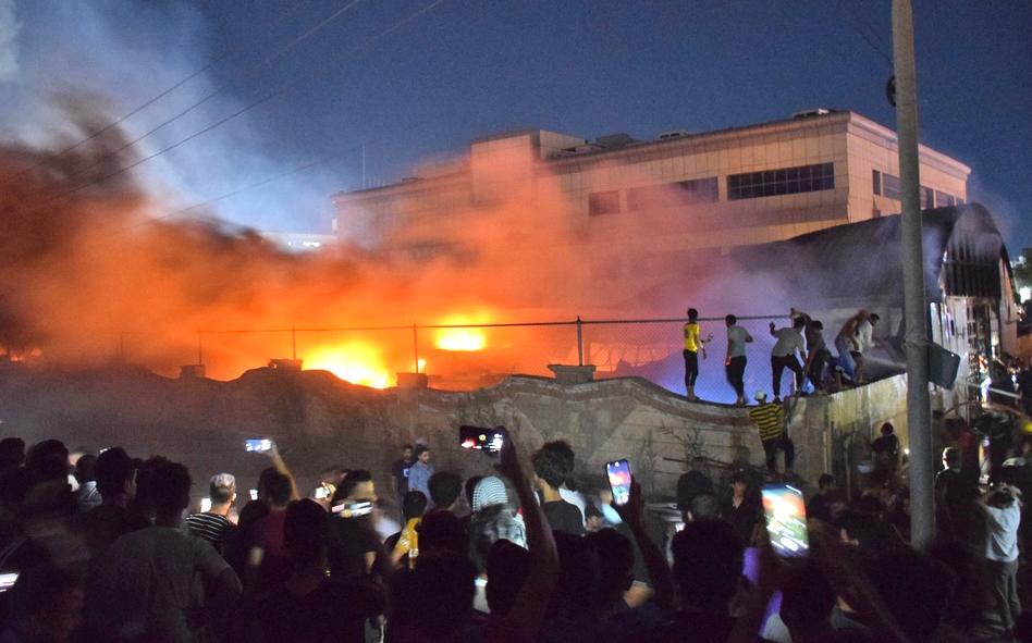 伊拉克一家治疗新冠患者的医院发生火灾    至少64人丧生