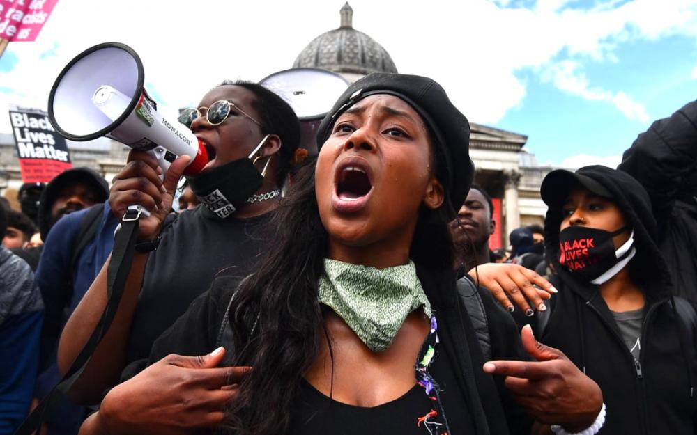 """英國黑人運動領袖、""""黑命貴""""活動家頭部遭槍擊,生命垂危"""